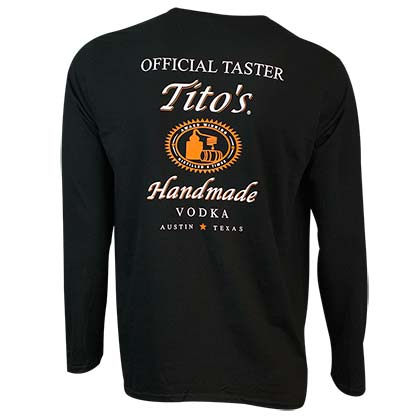 Sweat shirt Tito's Vodka pour homme