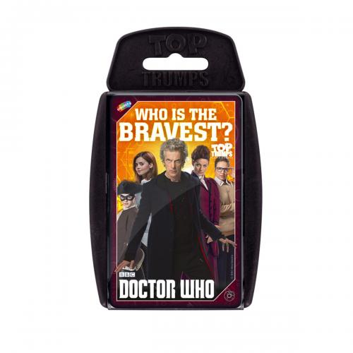 jeu de Carte Top Trumps Doctor Who