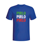 T-shirt Italie Football (bleue)