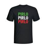 T-shirt Italie Football (Noir)