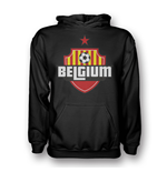 Sweat shirt Belgique Football (Noir)