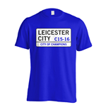 T-shirt Leicester City F.C. (bleue)