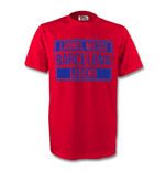 T-shirt FC Barcelone (Rouge)