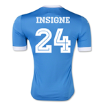 Maillot de Football Replica SSC Naples Home 2015-2016 (Insigne 24)