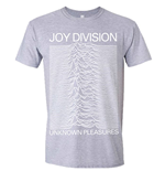 T-shirt Joy Division - Unknown Pleasures (Gris)