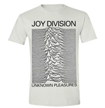 T-shirt Joy Division Unknown Pleasures (Blanc)