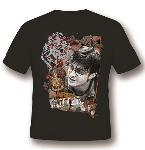 T-shirt Harry Potter Titillandus Noir