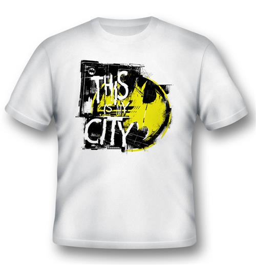 T-shirt Batman This Is My City