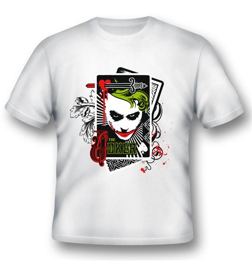 T-shirt Joker Cartes