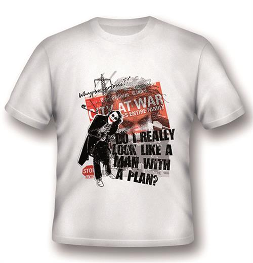T-shirt Joker A Man With A Plan