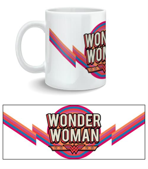 Tasse Wonder Woman Logo Rétro