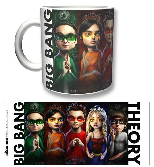 Tasse Big Bang Theory Heroes