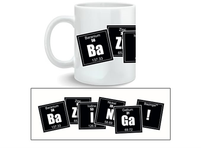 Tasse Big Bang Theory Bazinga Formula