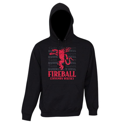 Sweat shirt Fireball Cinnamon Whisky pour homme