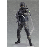 Metal Gear Solid 2 Sons of Liberty figurine Figma Gurlukovich Soldier 16 cm