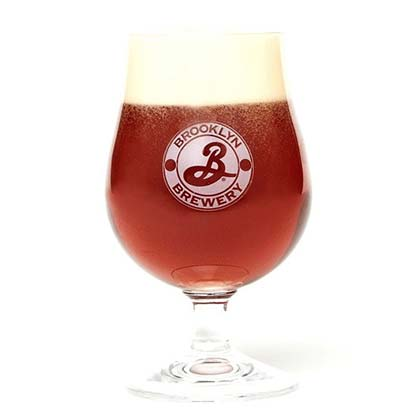 Verre Ballon Brooklyn Brewery