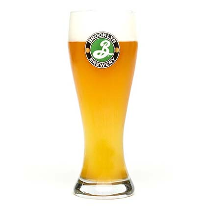 Verre Weisse Brooklyn Brewery