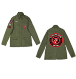 Veste The Rolling Stones - Army Utilitarian Tongue
