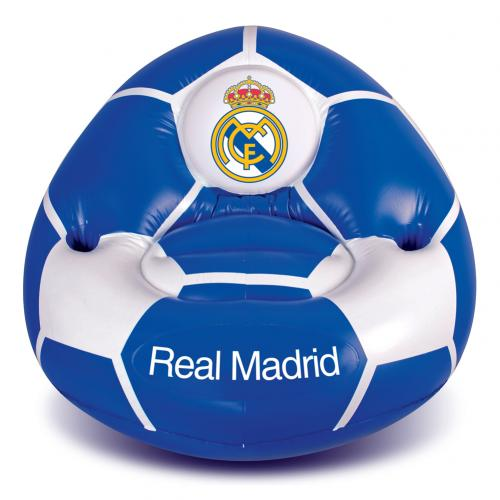 Chaise gonflable real madrid pour seulement 25 08 sur for Chaise gonflable