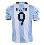 Maillot de Football Argentine Home 2016-2017 (Higuain 9) - Enfants