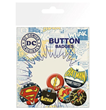 Badge Superheroes DC Comics 237124