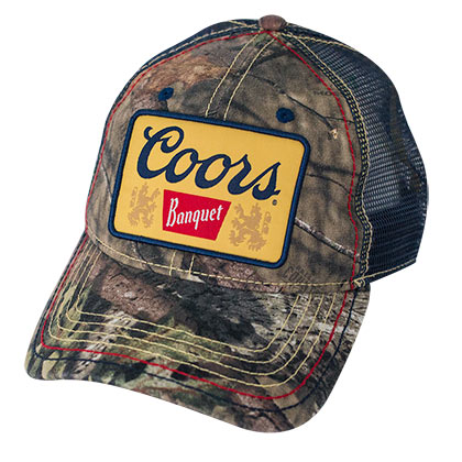 Casquette Coors Banquet Camouflage