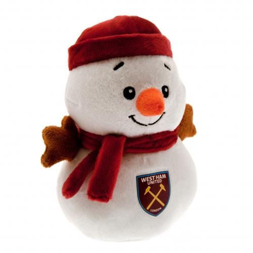 Peluche Bonhomme de Neige West Ham United FC
