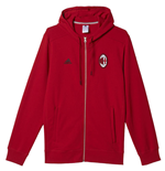 Sweat shirt AC Milan 2016-2017 (Rouge)