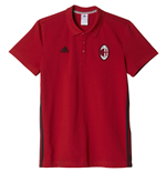 Polo AC Milan 2016-2017 (Rouge)
