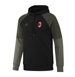 Sweat shirt AC Milan 2016-2017 (Noir)