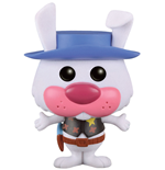 Hanna-Barbera POP! Animation Vinyl figurine Ricochet Rabbit (Flocked) 9 cm