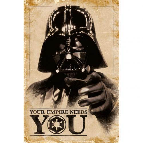 Poster Star Wars Empire Needs You