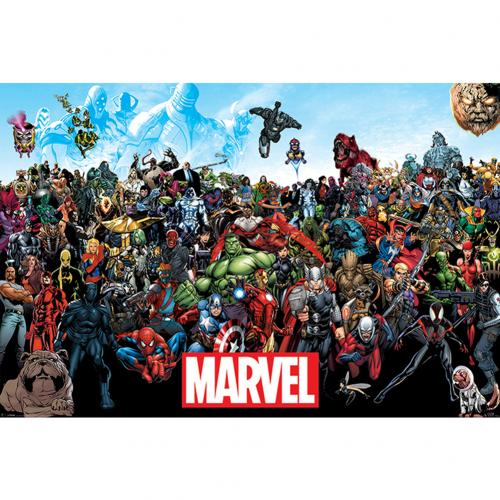 Poster Marvel Universe