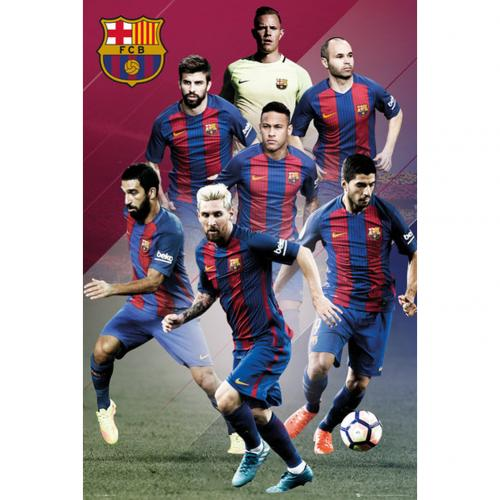 Poster FC Barcelone Joueurs 81