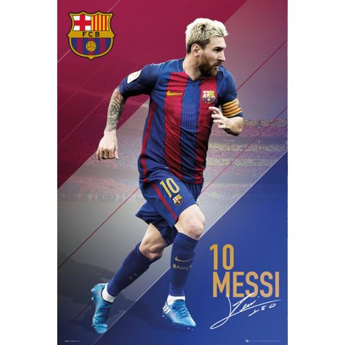 Poster FC Barcelone Messi 83