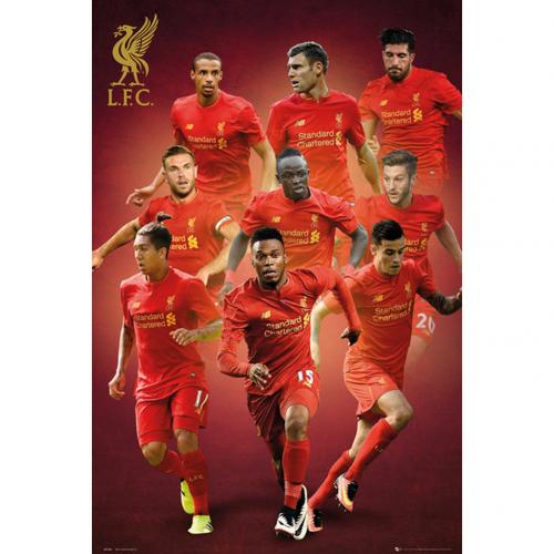 Poster Liverpool FC - Joueurs 76