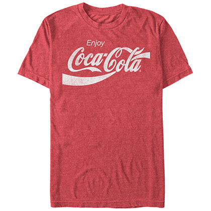 T-shirt Coca Cola Eighties Coke