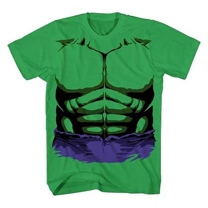 T-shirt Hulk - Costume