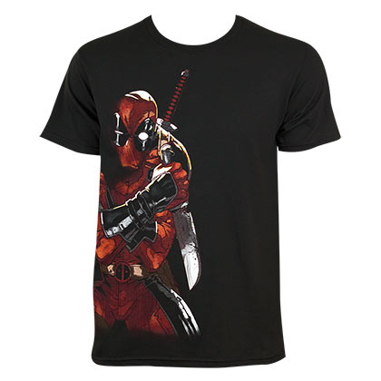T-shirt Deadpool Merculese