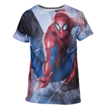 T-shirt Spiderman - Mesh Web Shooter (Garçons)