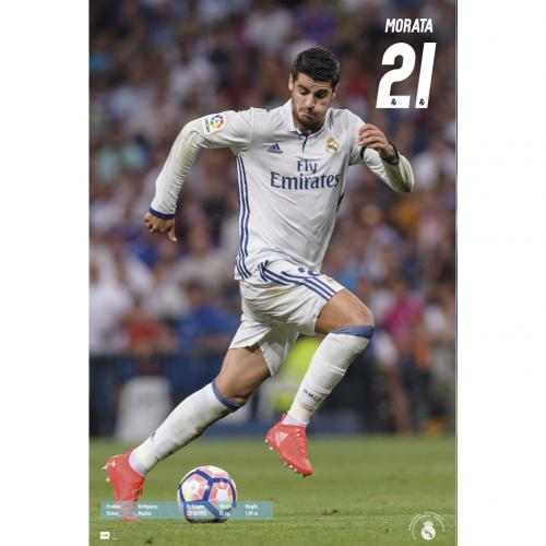 Poster Real Madrid Morata 55