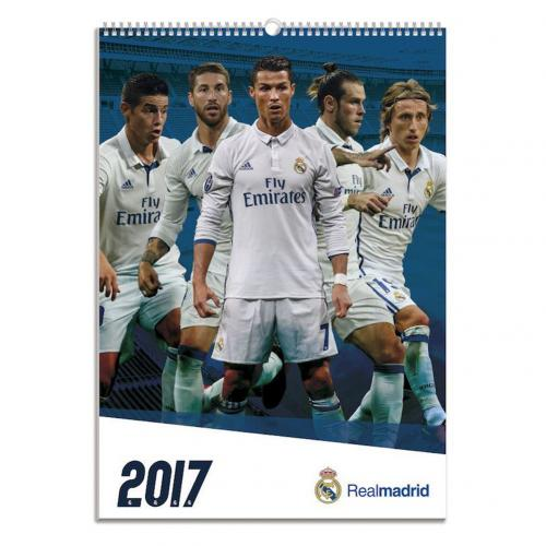 Calendrier Real Madrid 2017