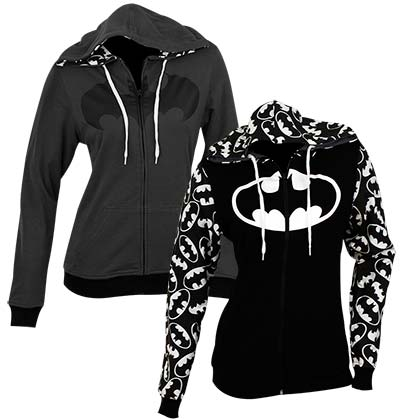 Sweat à Capuche Batman Réversible