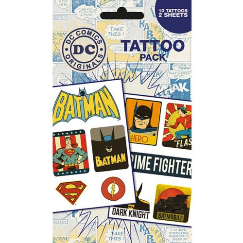 Tatouage Superheroes DC Comics 238692
