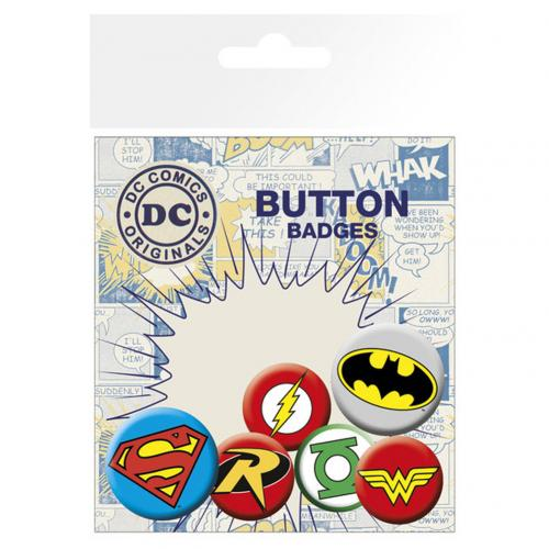 Badge Superheroes DC Comics 238693