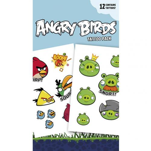 Tatouage Angry Birds 238697