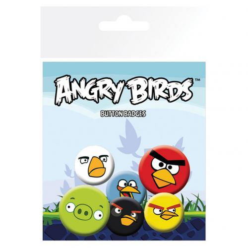 Épinglettes Angry Birds
