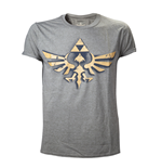T-shirt The Legend of Zelda - Logo Triforce Rétro