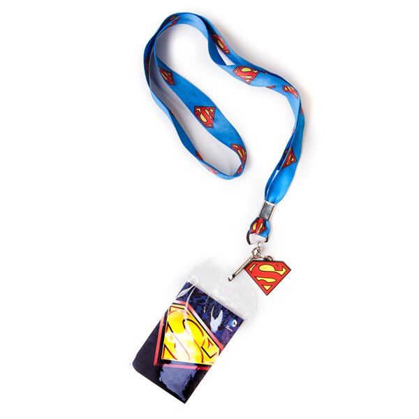 Cordon Tour De Cou Portebadge Superman Logo Pour Seulement - Porte badge tour de cou