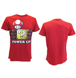 T-shirt Nintendo - Power Up